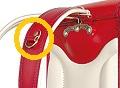 鞄工房山本の防犯取り付けブザー用フック